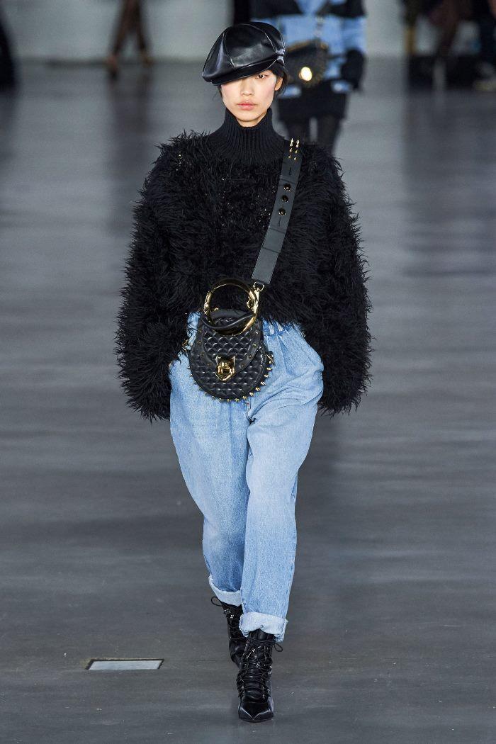 С чем носить джинсы осенью Balmain