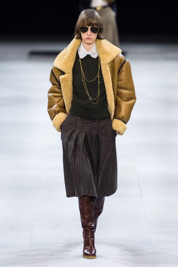 Модные дубленки Celine