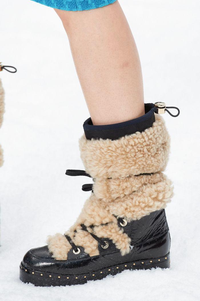 Модная обувь осень-зима Chanel