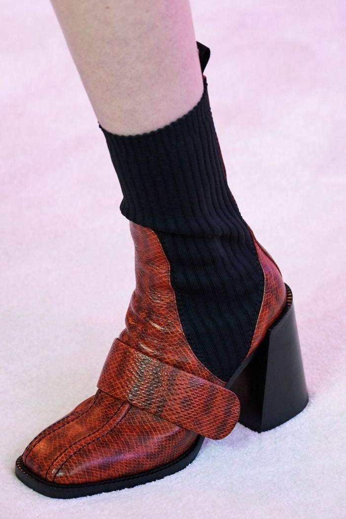 Модная обувь осень-зима 2019-2020 Chloé