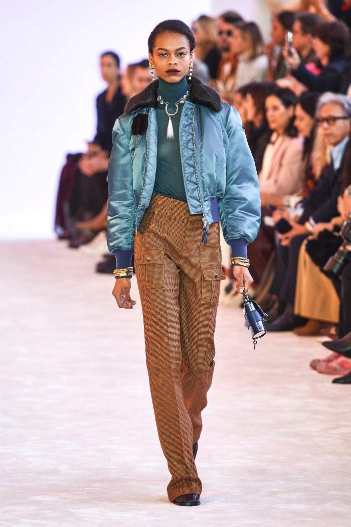 Модная куртка осень-зима 2019-2020 из коллекции Chloé