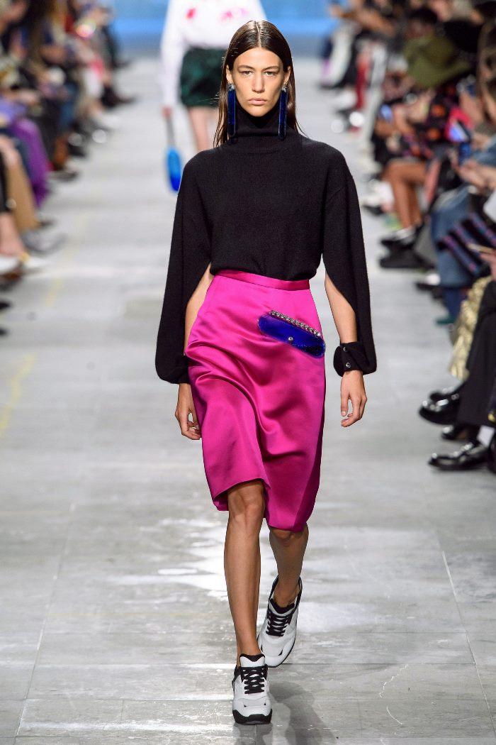 Что носить с юбкой-карандаш Christopher Kane