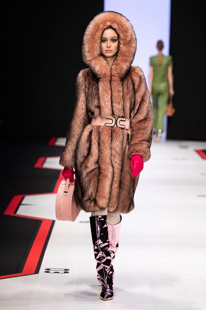 Модные шубы Elisabetta Franchi
