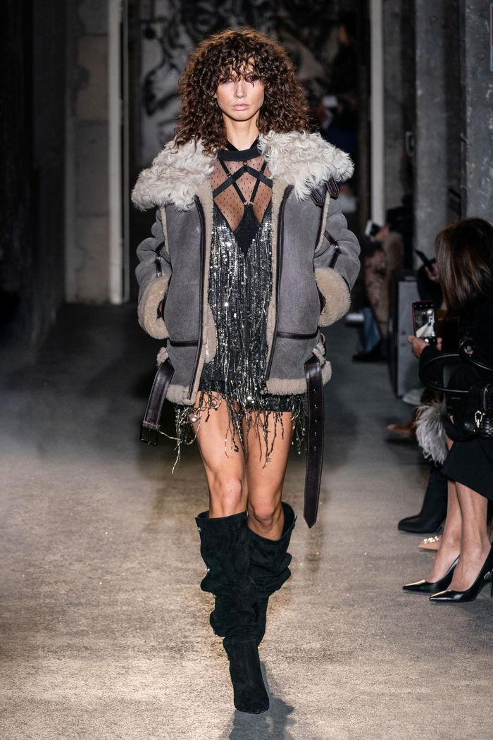 Модная куртка-дубленка Faith Connexion