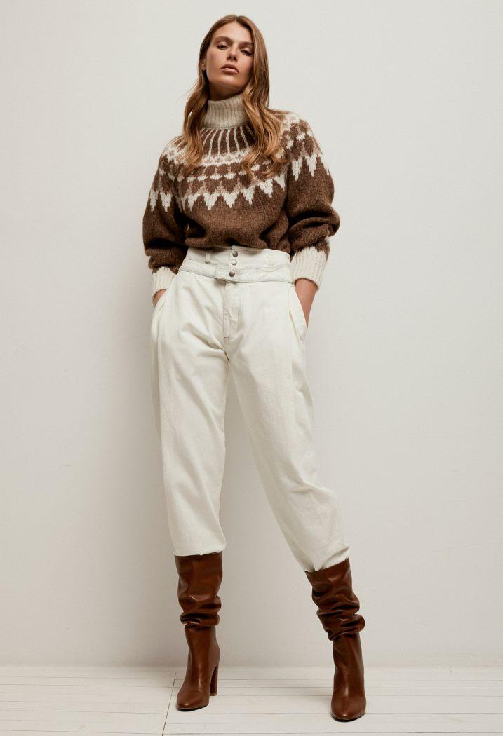 С чем носить джинсы Frame Denim