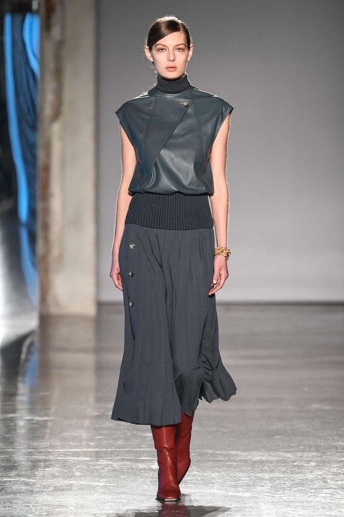 Модные длинные юбки осень-зима 2019-2020 Gabriele Colangelo