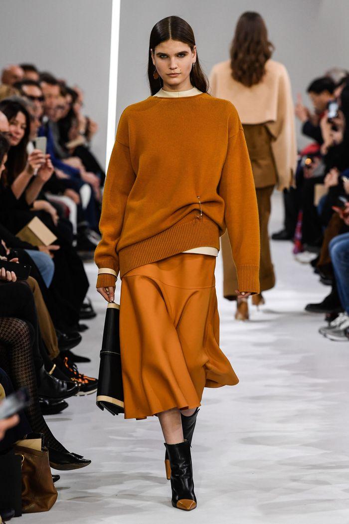 Модные длинные юбки осень-зима 2019-2020 Giada