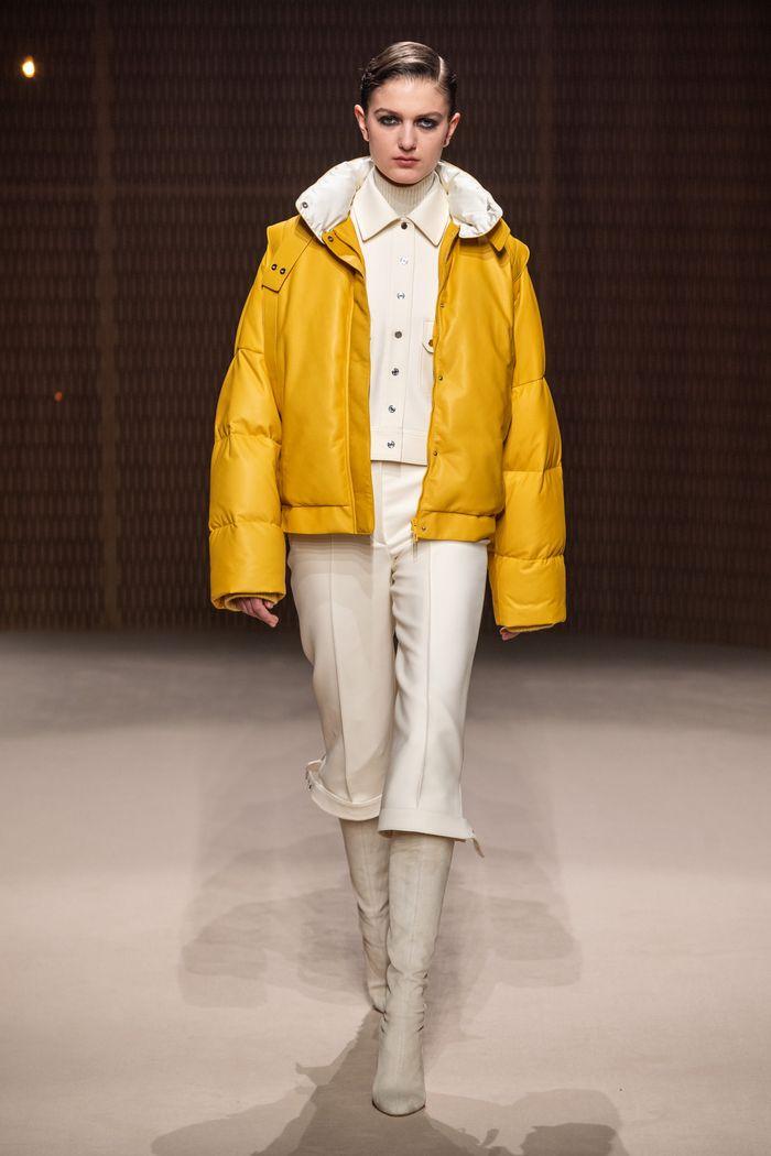 Модные укороченные брюки осень-зима 2019-2020 из новой коллекции Hermès