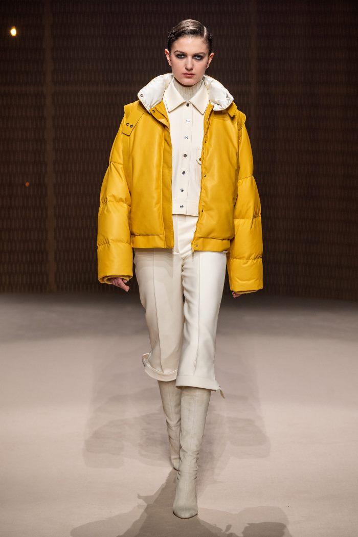 Модная куртка осень-зима 2019-2020 из коллекции Hermès