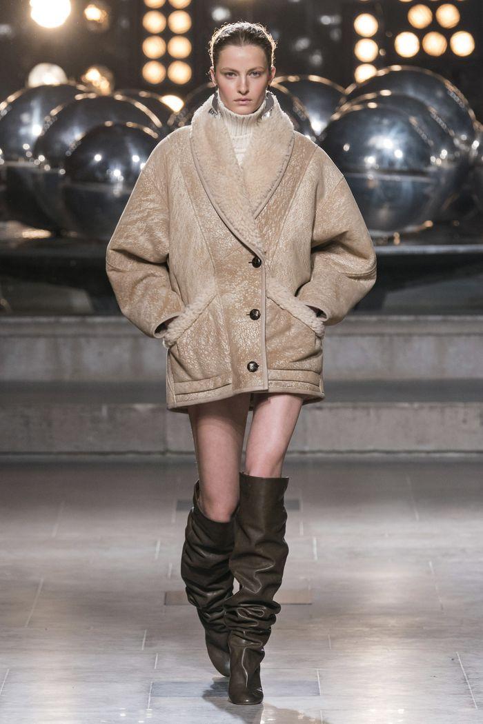 Модные дубленки Isabel Marant
