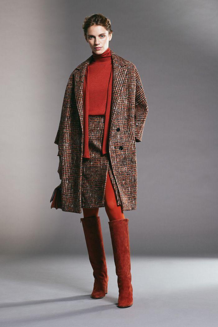 Модная юбка осень-зима 2019-2020 Kiton
