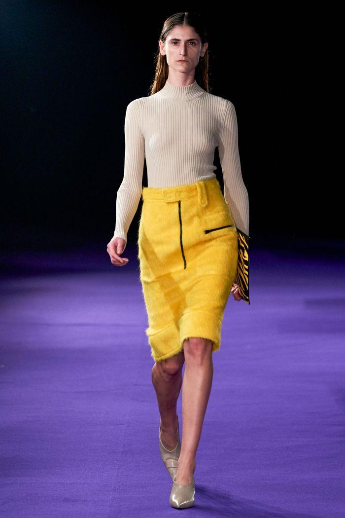 Модная юбка осень-зима 2019-2020 Kwaidan Editions