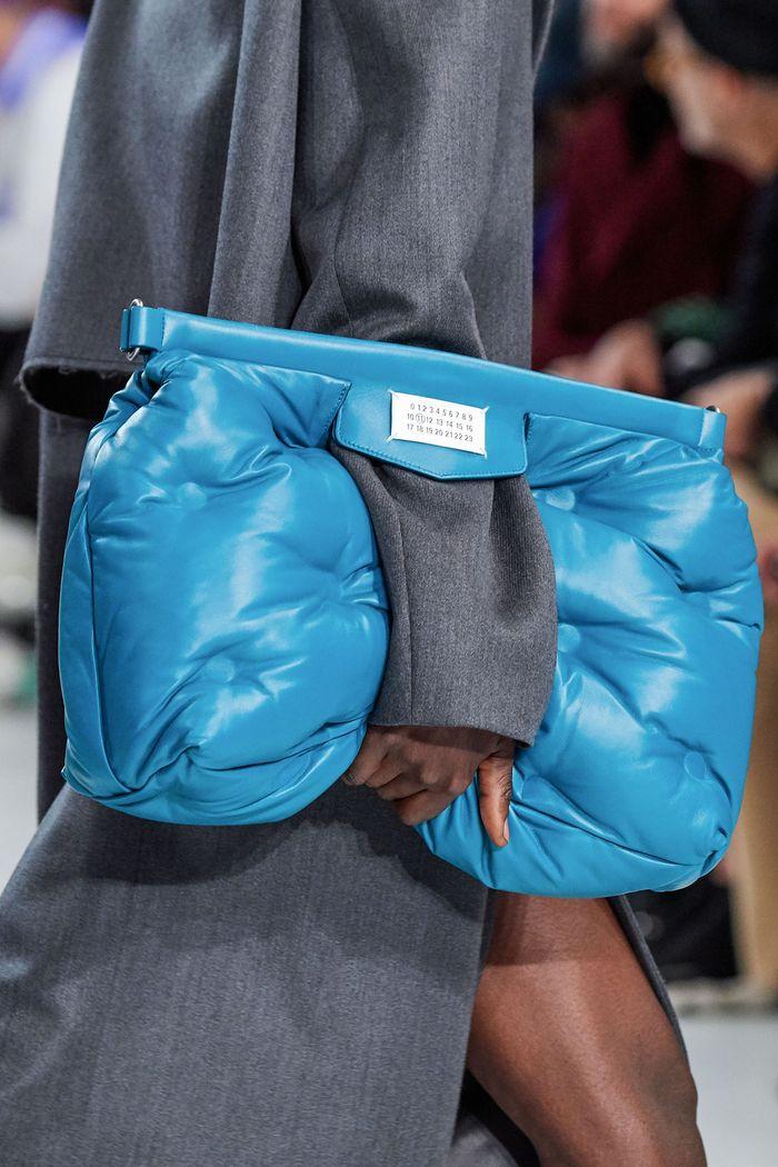 Модные сумки из курточной ткани Maison Margiela