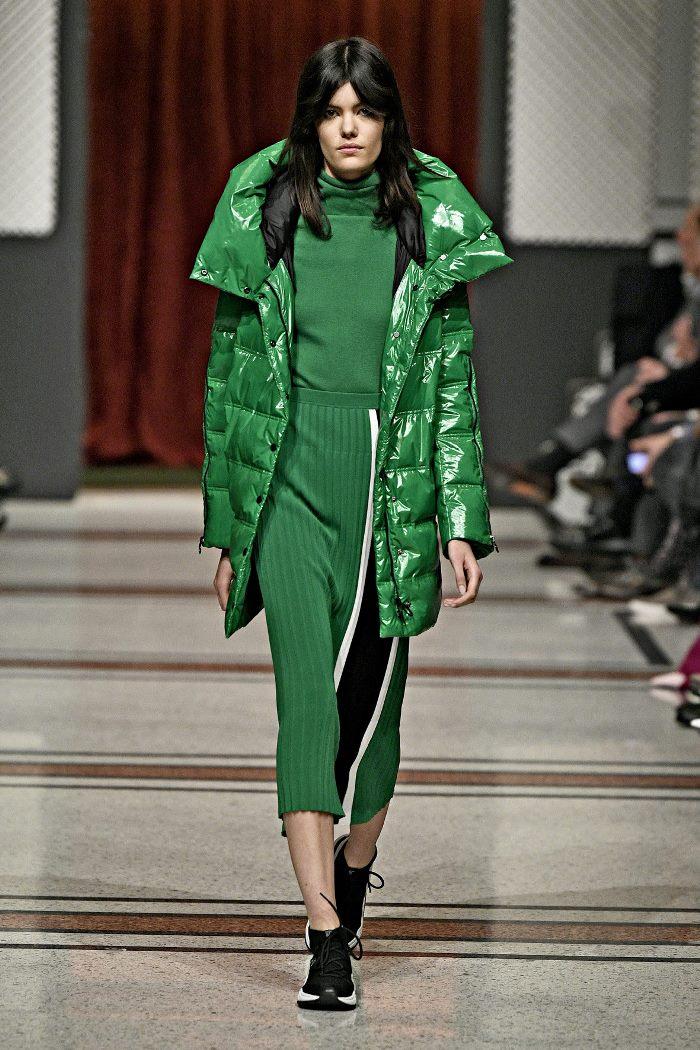Модная куртка осень-зима 2019-2020 из коллекции Marc Cain