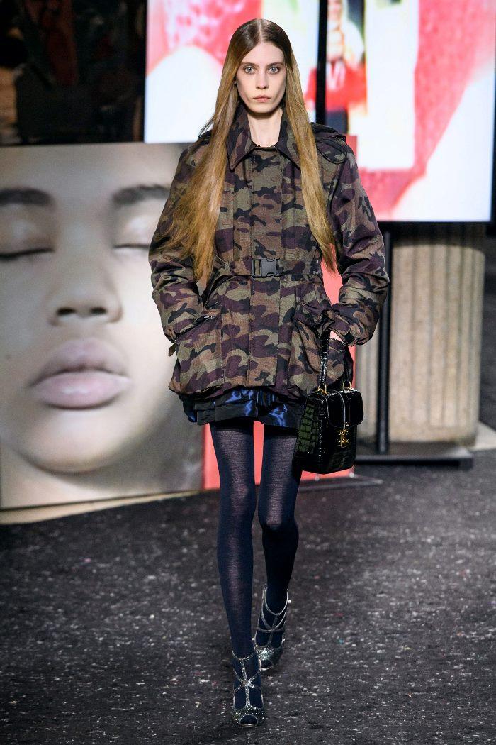 Модная куртка осень-зима 2019-2020 из коллекции Miu Miu