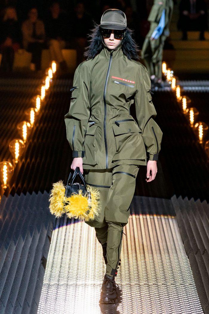Модная куртка осень-зима 2019-2020 из коллекции Prada