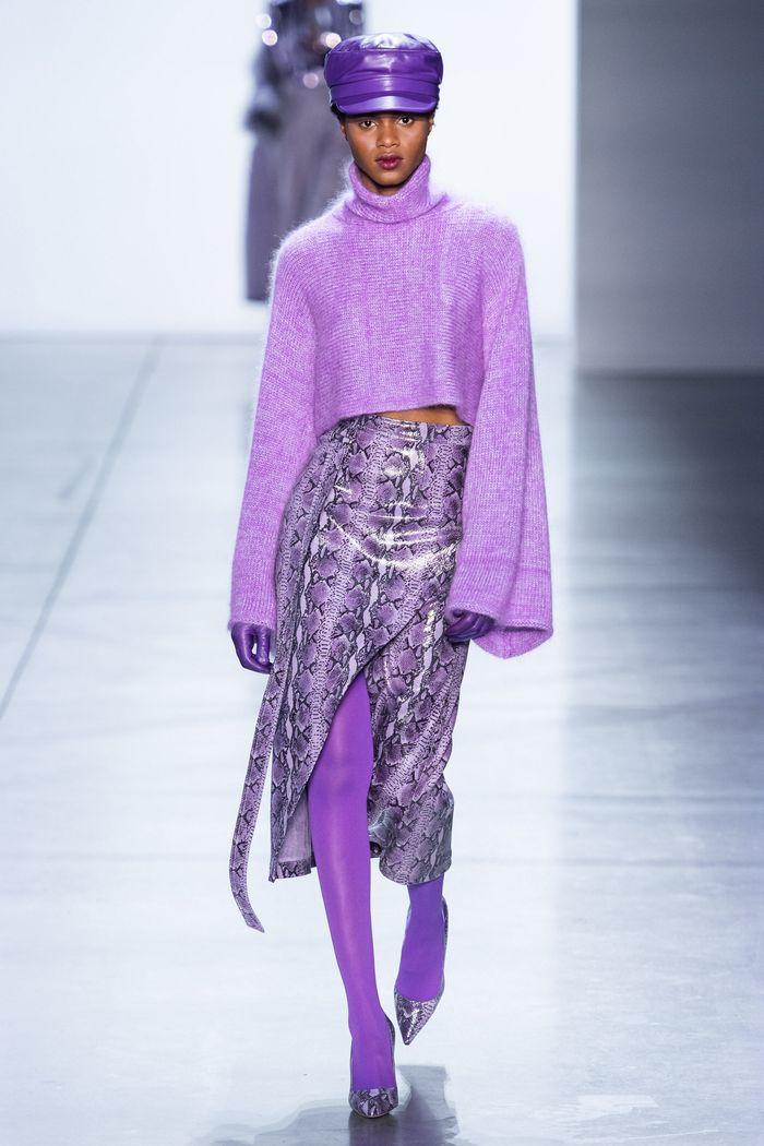 Модная юбка осень-зима 2019-2020 Sally LaPointe