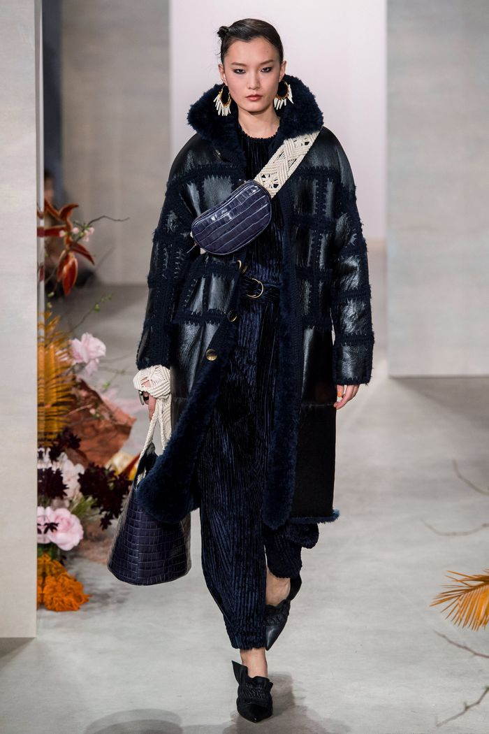 Модные кожаные дубленки Ulla Johnson