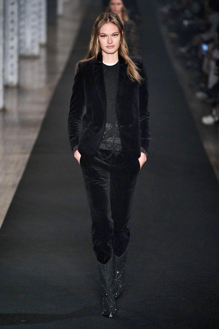 Модный вельветовый пиджак из коллекции осень-зима Zadig & Voltaire