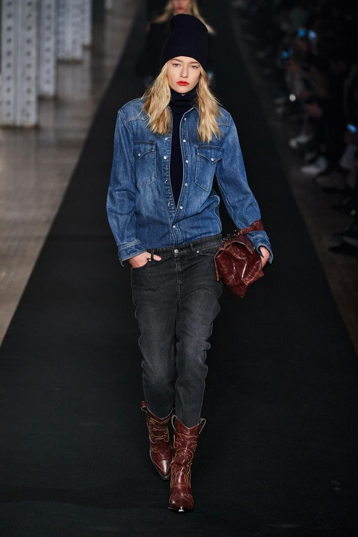 Модные джинсы осень-зима 2019-2020 из коллекции Zadig & Voltaire