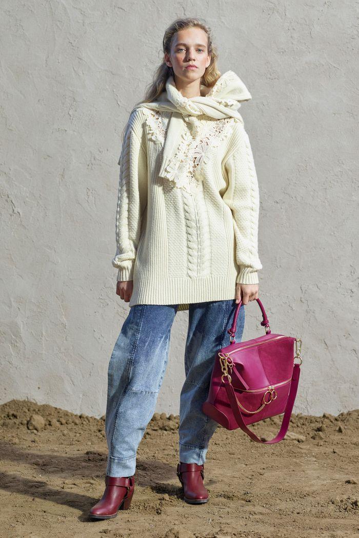 Модные джинсы осень-зима 2019-2020 из коллекции See by Chloe