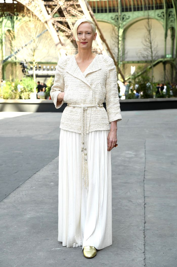 Образы Тильды Суинтон в белом