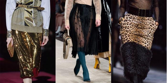Модные юбки осень-зима 2019-2020. Новинки из последних коллекций.