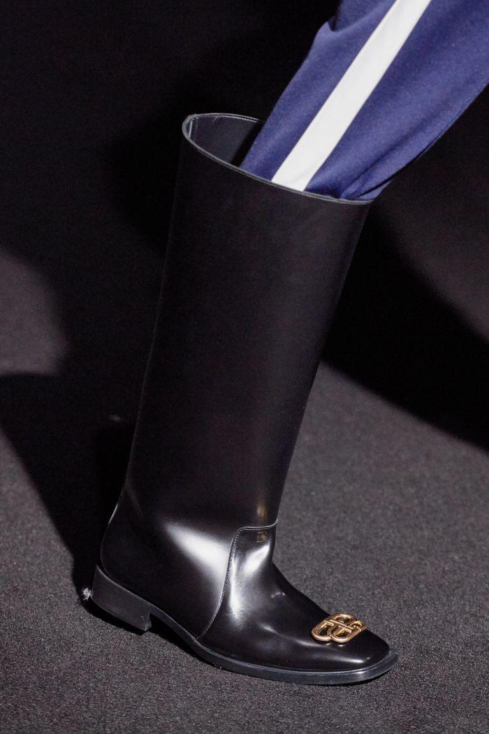 Модные резиновые сапоги осень-зима из коллекции Balenciaga