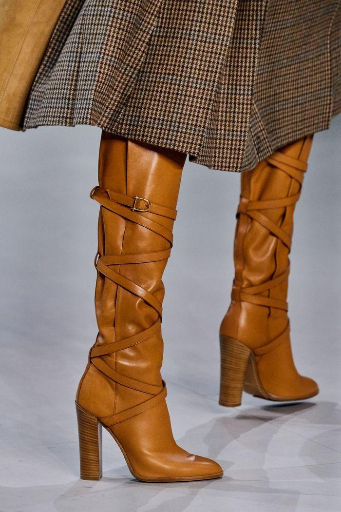 Модные сапоги осень-зима из коллекции Celine