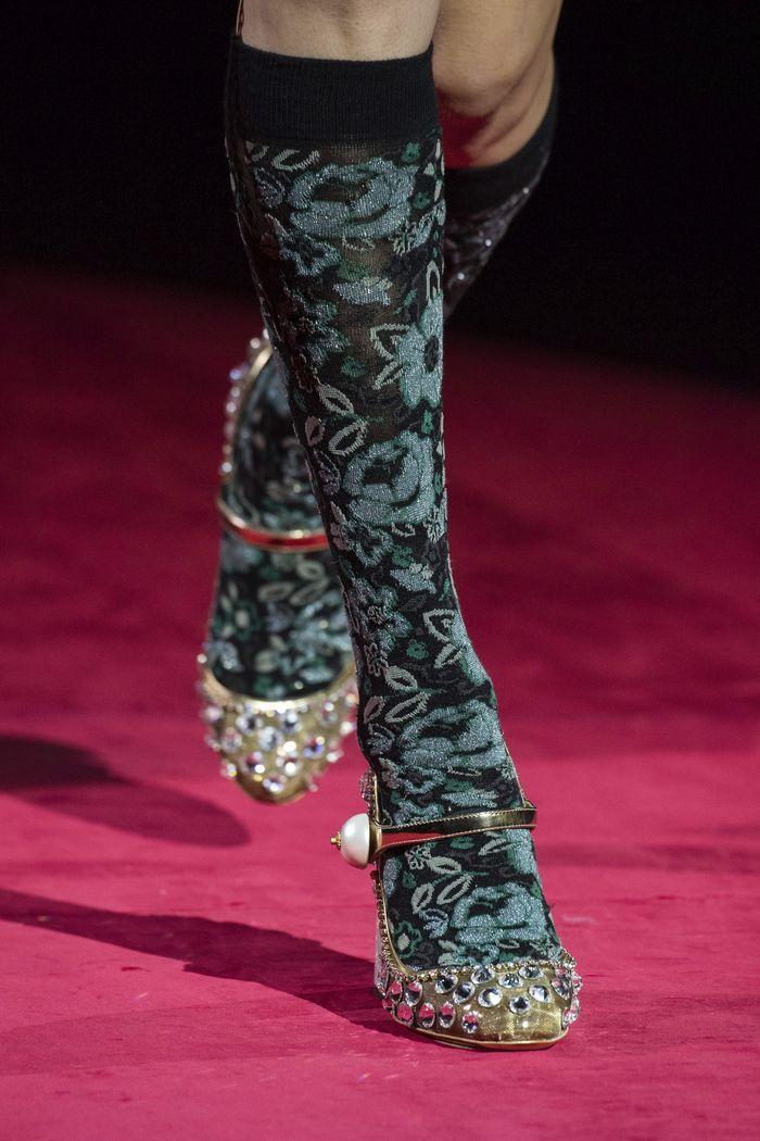Модные туфли осень 2019. Коллекция Dolce & Gabbana