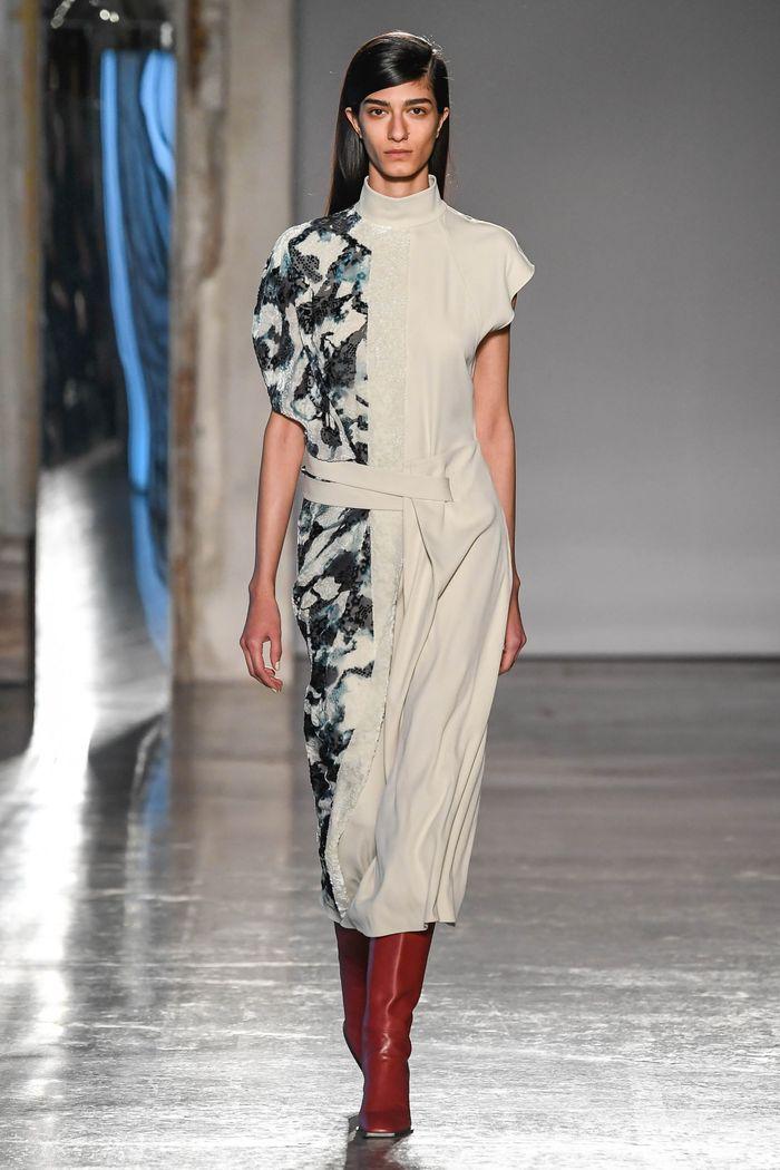Модные красные сапоги осень-зима из коллекции Gabriele Colangelo