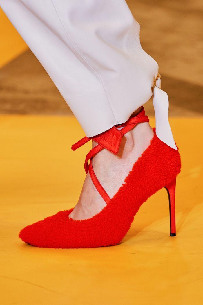 Модные туфли осень 2019. Коллекция Off-White