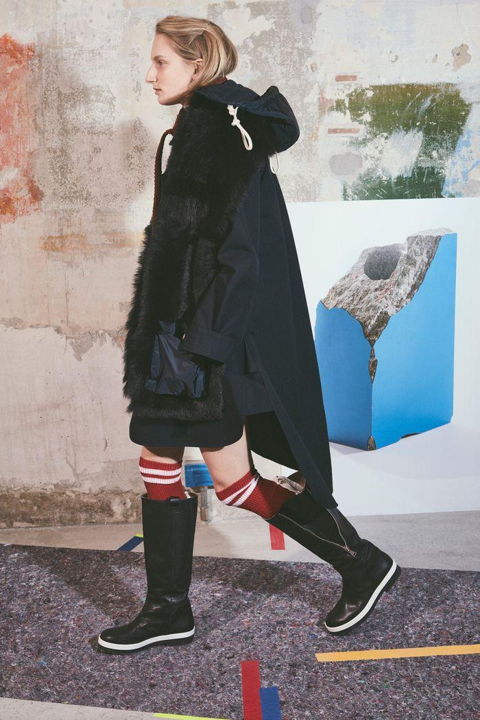 Модные сапоги на низком ходу осень-зима из коллекции Plan C