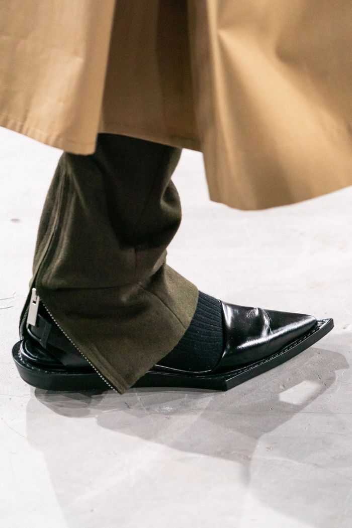 Модные туфли на осень. Коллекция Sacai