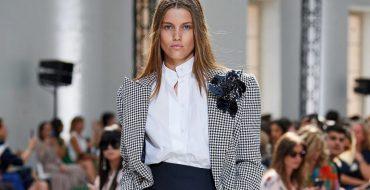 Модный женский пиджак осень-зима 2019-2020