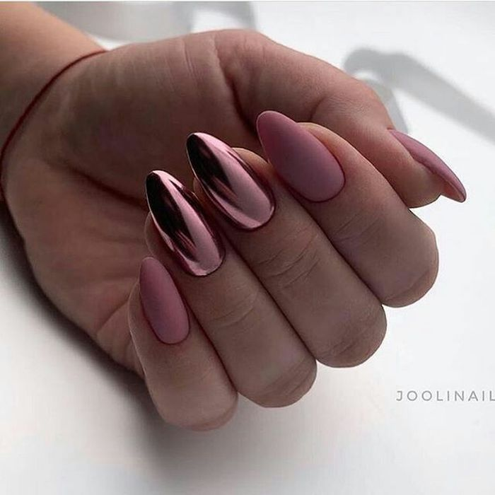 Дизайн ногтей с втирками