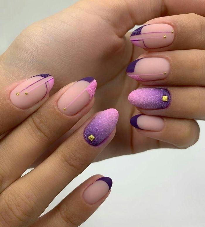 Дизайн ногтей с акриловой пудрой