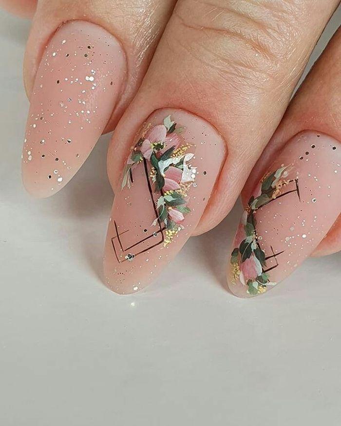 Новинки дизайна ногтей с камуфлирующими базами