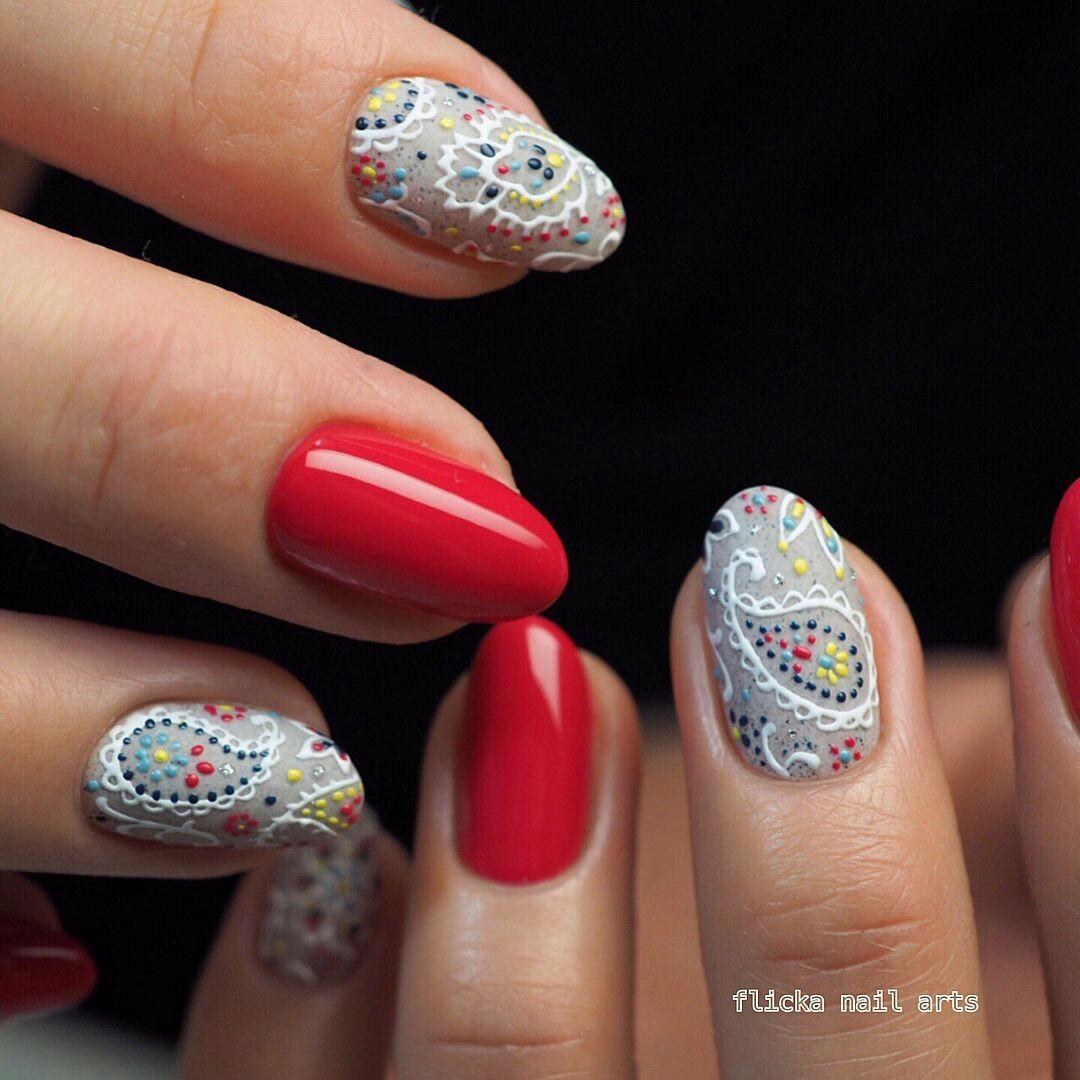 Восточный дизайн ногтей