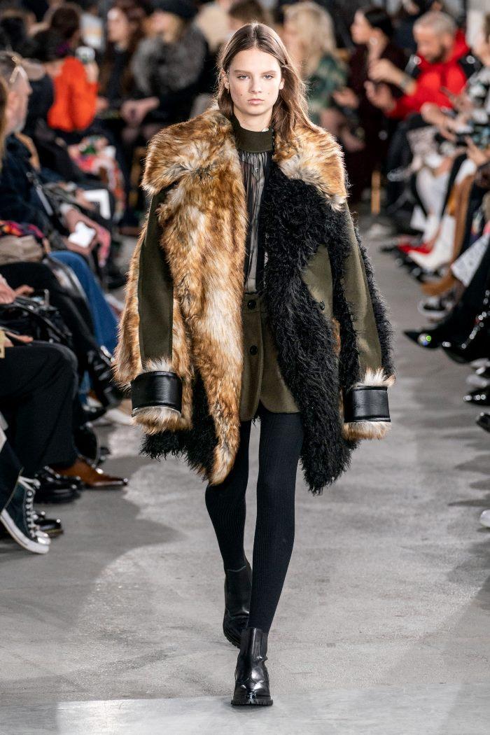 С чем носить женские ботинки челси. Образ из новой коллекции Sacai