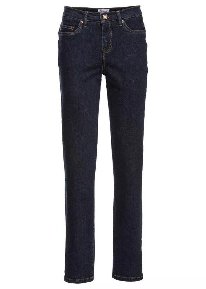 Классические синие джинсы для базового гардероба