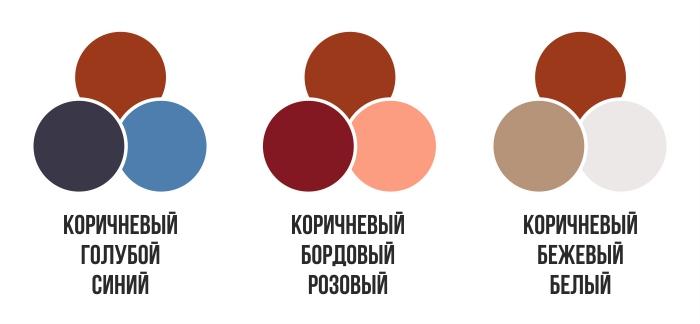 Инфографика: С чем носить коричневые кожаные брюки