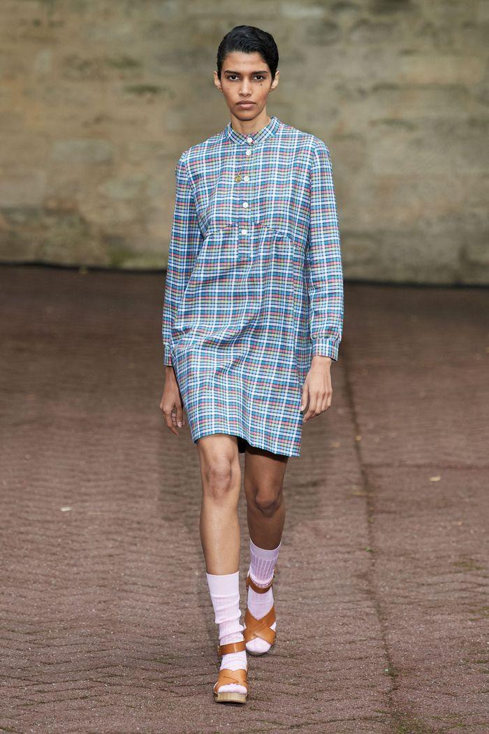 Модные принты в женской одежде 2020. Коллекция A.P.C