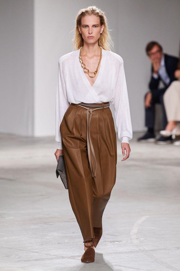 Тренды в одежде 2020 весна-лето. Коллекция Agnona