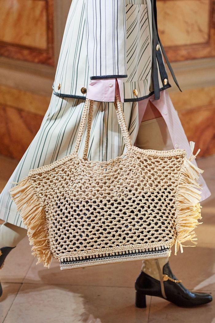 Модная вязаная сумка 2020 из коллекции Altuzarra