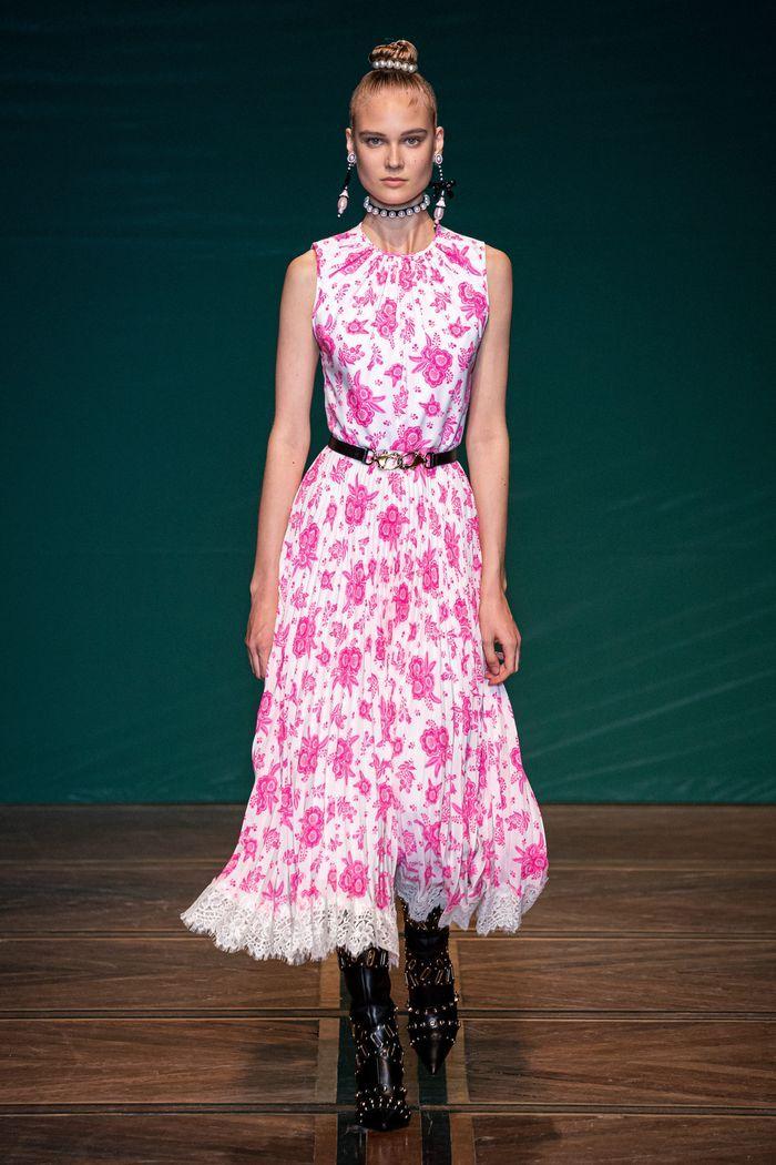 Модные принты в женской одежде 2020. Коллекция Andrew Gn