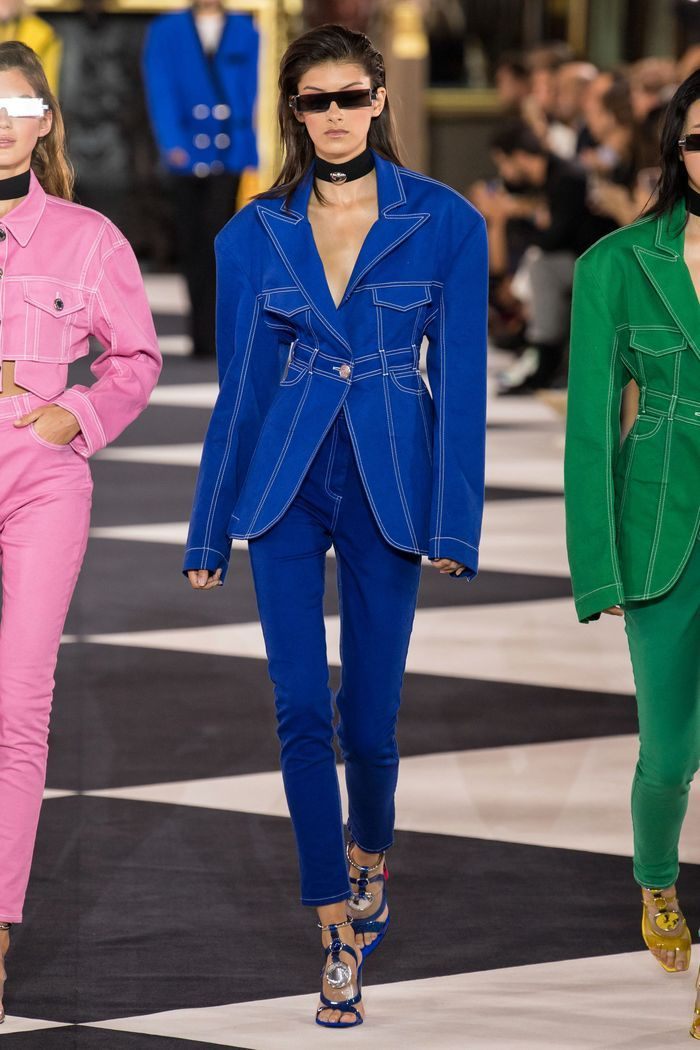 Тренды в одежде 2020 весна-лето. Коллекция Balmain