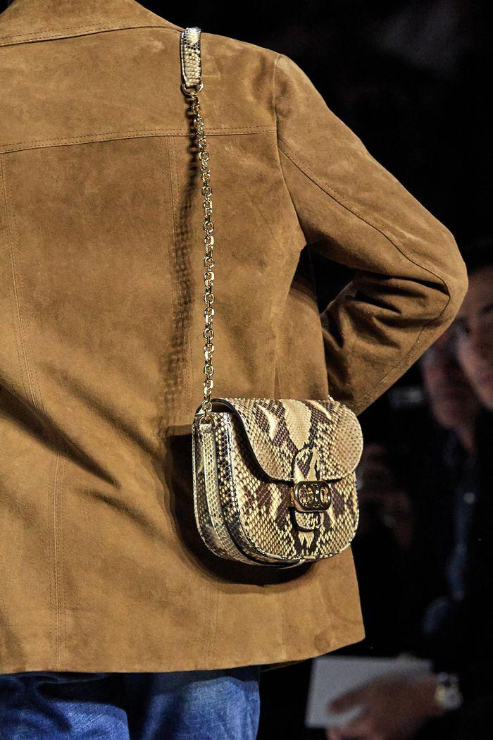 Модная сумка 2020 из кожи питона из коллекции Celine