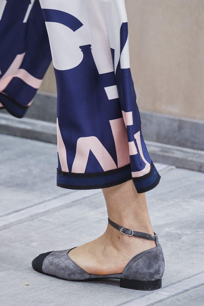 Модные цвета обуви 2020. Коллекция Chanel