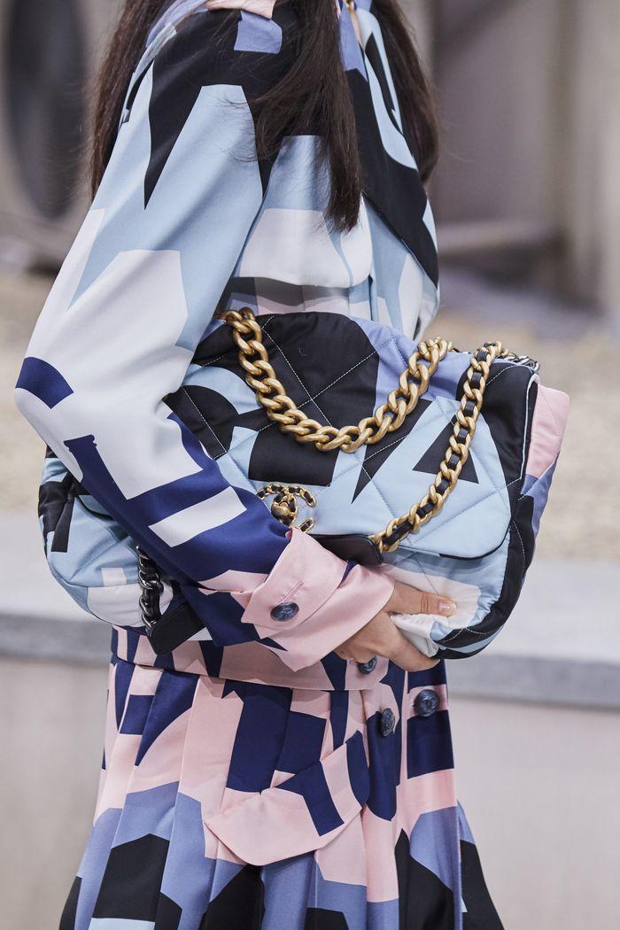 Модные сумки 2020 с цепью из коллекции Chanel